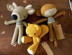Вязаные игрушки by pica - pau