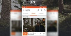 Eventhub . Eventhub lets you display events happening around your
