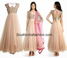 Designer Anarkali by Anushree Reddy ~ Celebrity Sarees, Designer Sarees, Bridal Sarees, Latest Blouse Designs 2014