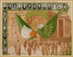 Poblacht na herein - The Provisional Government of the Irish Republic -1916