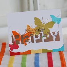 Papertrey Ink Card using new releases for February.  Bright and colourful.  Designed by Betsy Veldman: Denior Designer at PTI.