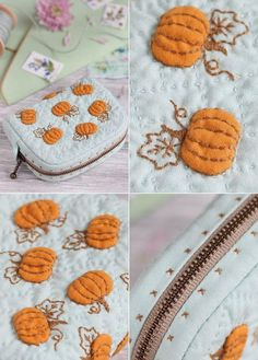 Not in English but some great visual ideas. Japanese Patchwork, Japanese Quilts, Patchwork Bags, Herb Embroidery, Embroidery Stitches, Quilted Gifts, Quilted Bag, Quilting Projects, Sewing Projects