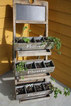 1000 images about jardin pices on pinterest herbs - Fines herbes en pot interieur ...