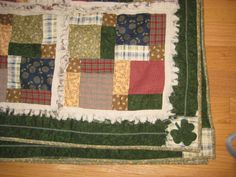 Shamrocks for Irish #quilt