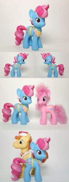 Mrs Cup Cake G4 Custom Pony by ~kd-230692 on deviantART