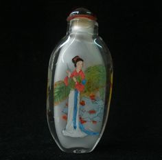 CHINESE Inside Painted SnuffBottle DiaoChan of China Four Beauties SGA166 GIFT