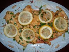 My Italian Grandmother: Lidia's Chicken Francese - An Italian American Classic