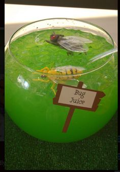 Bug Juice! Kid-friendly drink.