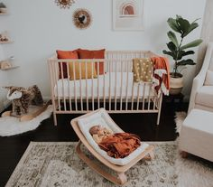 """baby girl nursery room ideas 558939003753491101 - """"Merry Christmas ya filthy animal""""🎄… I think we just might have to watch Home Alone tonight… what's your favorite Christmas movie? Baby Bedroom, Baby Boy Rooms, Baby Room Decor, Nursery Room, Girl Nursery, Girl Room, Kids Bedroom, Boho Nursery, Apartment Nursery"""
