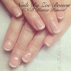 Natural American manicure