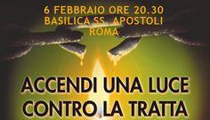 Fiaccolata a Roma per le vittime della tratta e della schiavitù