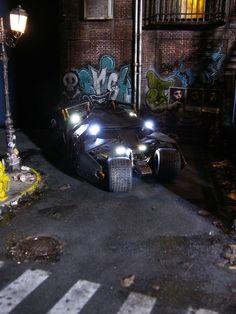 Gotham City 1/35 Scale Model Diorama