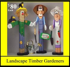 "Landscape Timber ""Gardeners"""