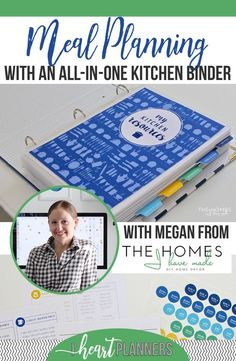 Budget meal planning 225461525083020234 - Meal Planning With an All-In-One Kitchen Binder – I Heart Planners Source by adrienne_essink Meal Planning Binder, Family Meal Planning, Budget Meal Planning, Meal Planner, Family Meals, Food Budget, Planning Board, Budget Plan, Happy Planner