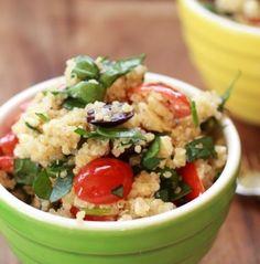 salada com quinoa