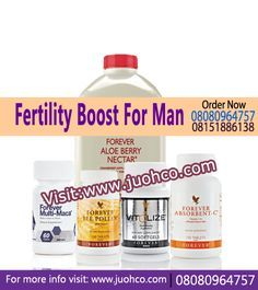 Fertility Boost For Man Pack Forever Aloe Berry Nectar, Fertility Boosters, Increase Testosterone Levels, Male Infertility, Forever Living Products, How To Increase Energy, Stress And Anxiety, Men, Guys