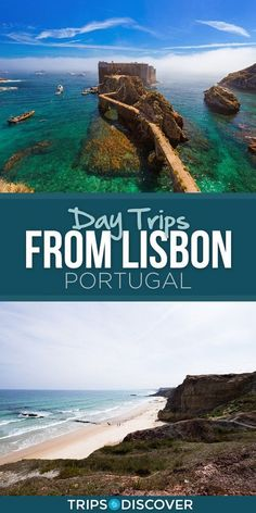 11 Best Day Trips from Lisbon, Portugal. Surrounding Lisbon you'll find a wealth of day trip options, from beautiful beaches and medieval castle towns to an array of historic sights. Portugal Vacation, Portugal Travel Guide, Portugal Trip, Portugal Destinations, Best Beaches In Portugal, Travel Destinations, Belem Portugal, Spain And Portugal, Travel Photos