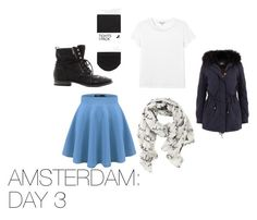 Amsterdam: Day 3 by skittlebug1 on Polyvore featuring Monki, H&M, Sam Edelman and Disney