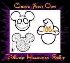 Disney Mickey Minnie Halloween Shirt Family Vacation by 4mybaby