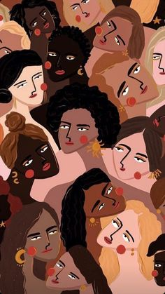 I am absolutely loving artist Maggie Stephenson's captivating illustrations. Not only are her color palettes so inspiring and on point, her exaggerated and somewhat abstract portrayal of the female figure is wonderfully tender… Art Inspo, Kunst Inspo, Inspiration Art, Art And Illustration, Watercolor Illustration, Graphic Illustrations, Aesthetic Iphone Wallpaper, Aesthetic Wallpapers, Wallpaper Art