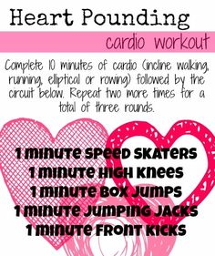 Heart Pounding Cardio Workout - Make 45 minutes at the gym fly by!