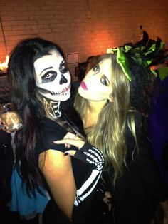 #Halloween #Makeup #Skeleton