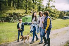 Preventing theft while camping or caravanning