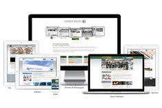 Website-Relaunchs für die Drösser-Gruppe Einheitliches Corporate Design für eine verzahnte Unternehmenskommunikation I www.agentur-fahrenheit.de