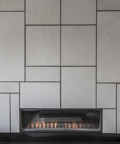 Geometric Polished Plaster Panelling -