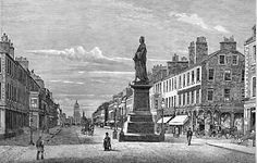 Engraving from 'Old & New Edinburgh  -  George Street