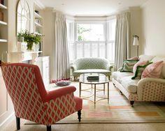 modern victorian living room decor - Google Search