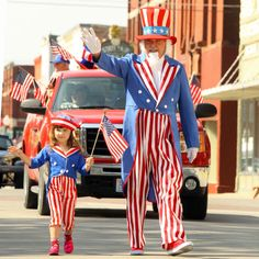 Walk the parade in costume!