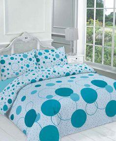 Noah Teal Duvet Quilt Bedding Set – Linen and Bedding