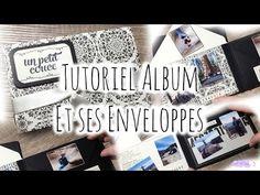 [Tutoriel n°5] : Album d'enveloppes | Scrap with Steph - YouTube - YouTube