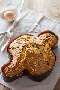 Colomba veloce di Anna Moroni (con cioccolato e nocciole) Italian Desserts, Italian Recipes, World Recipes, My Recipes, Easter Recipes, Holiday Recipes, Sweet Corner, Cheesecake Desserts, Bread Cake