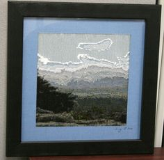 I used BeadCreator software to convert a photograph taken from the top of Grandfather Mountain in NC into a beaded pattern.  I love this software, you can turn almost any photo into a beaded piece of art!