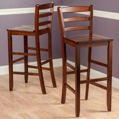 Dixie Seating 30 In Shaker Style Ladder Back Bar Stool
