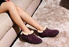 Alibaba Hot Sell Fur Collar Women Leather Shoes (SN1006) - China Woman leather shoes, Mubo