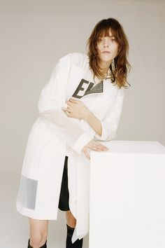 Meghan Collison is taking on sporty wear for i D Spring 2014