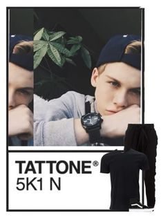 """""""Landon"""" by mad-die-hatter ❤ liked on Polyvore featuring Blood Brother, Simplex Apparel, Vans, men's fashion and menswear"""