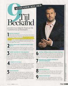 Veronica nr 20 - 24 t/m 30 Mei 2014 - Intervieuws Tijl Beckand