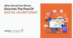 When Should Your Brand Dive Into The Pool Of Digital Advertising? Raising Capital, Greater Than, Advertising Agency, Diving, Digital Marketing, Investing, This Or That Questions, Business, Track