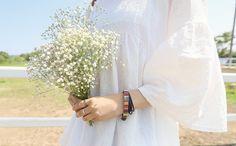 マルチカラーパターンブレスレット -  [Daily about:デイリーアバウト]韓国人気レディースファッション通販! お手ごろなオリジナルアイテムが盛りたくさん!!