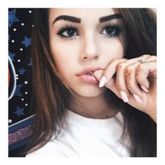 maggie lindemann ❤ liked on Polyvore featuring kendall