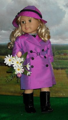 AG RAINCOAT 1 by Sugarloaf Doll Clothes, via Flickr