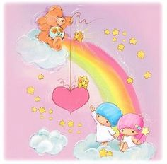Care Bear & Little Twin Stars
