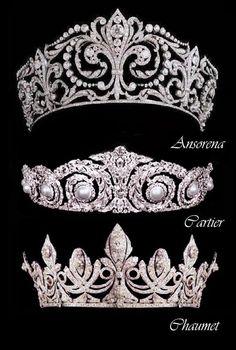 Three of Queen Victoria Eugenia's Tiaras        Bookmark this member