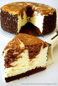 Marble Soft Cheesecake