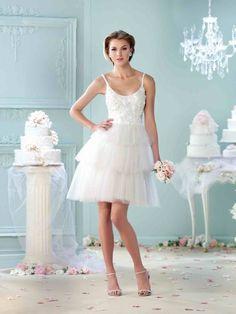 Mon Cheri Wedding Dress | sodazzling.com