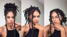 9 WAYS I STYLE MY FAUX LOCS [Video] - https://blackhairinformation.com/video-gallery/9-ways-style-faux-locs-video/